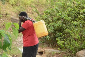 The Water Project : 4-kenya4757-current-water-source-for-distant-families