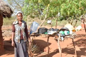 The Water Project : 4-kenya4763-dish-rack-1