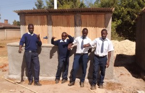 The Water Project : 43-kenya4637-finished-latrines