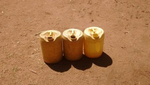 The Water Project : 5-kenya4705-10-liter-jerrycans-used-to-fetch-water