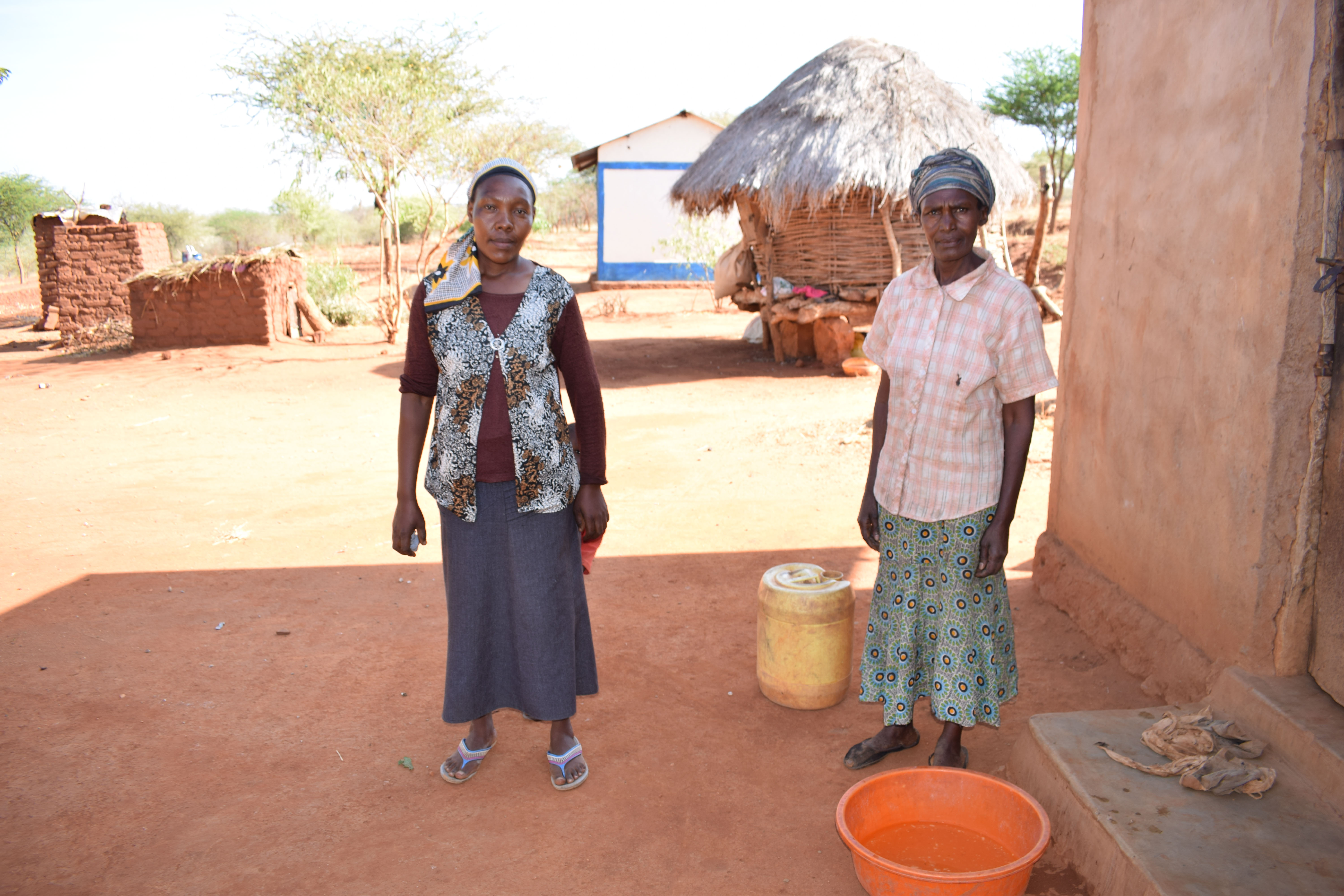 The Water Project : 5-kenya4763-household-1
