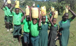 The Water Project : 10-kenya4692-students-posing-with-their-water