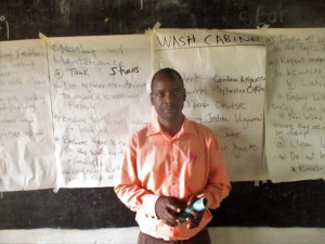 The Water Project : 13-kenya4642-mr-moses-atieli-teacher-in-charge-of-health-club