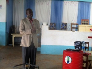The Water Project : 14-kenya4648-mr-sylvester-madegwa-teacher-in-charge-of-ctc-club
