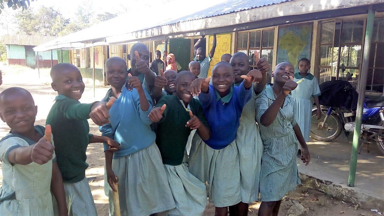 The Water Project : 14-kenya4661-students