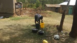 The Water Project : 16-kenya4717-washing-utensils