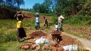The Water Project : 17-kenya4704-collecting-materials