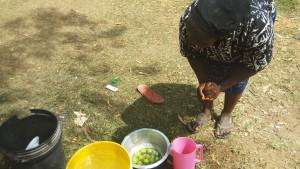 The Water Project : 17-kenya4717-preparing-fruit