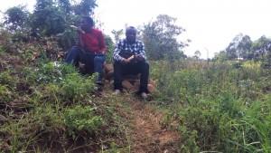 The Water Project : 18-kenya4700-staff-enjoying-sugarcane-after-training