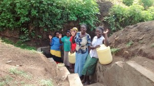 The Water Project : 19-kenya4701-protected-spring