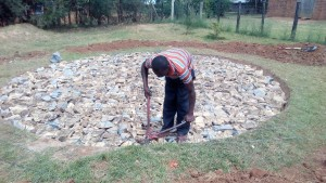 The Water Project : 2-kenya4645-tank-foundation