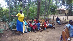 The Water Project : 2-kenya4700-community-member-talks-during-training