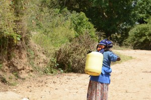 The Water Project : 2-kenya4782-family-one-fetching-water