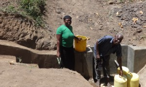 The Water Project : 20-kenya4698-protected-spring