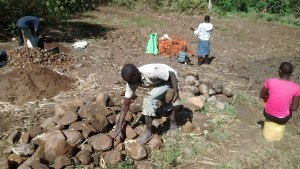 The Water Project : 20-kenya4700-materials-for-construction