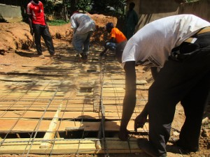 The Water Project : 22-kenya4641-latrine-construction