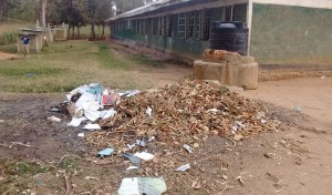 The Water Project : 23-kenya4661-garbage-pile