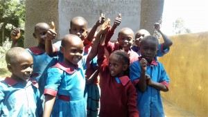 The Water Project : 24-kenya4649-finished-latrines