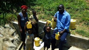 The Water Project : 25-kenya4697-protected-spring