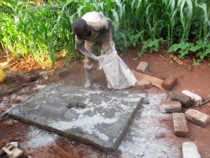 The Water Project : 27-kenya4703-sanitation-platform