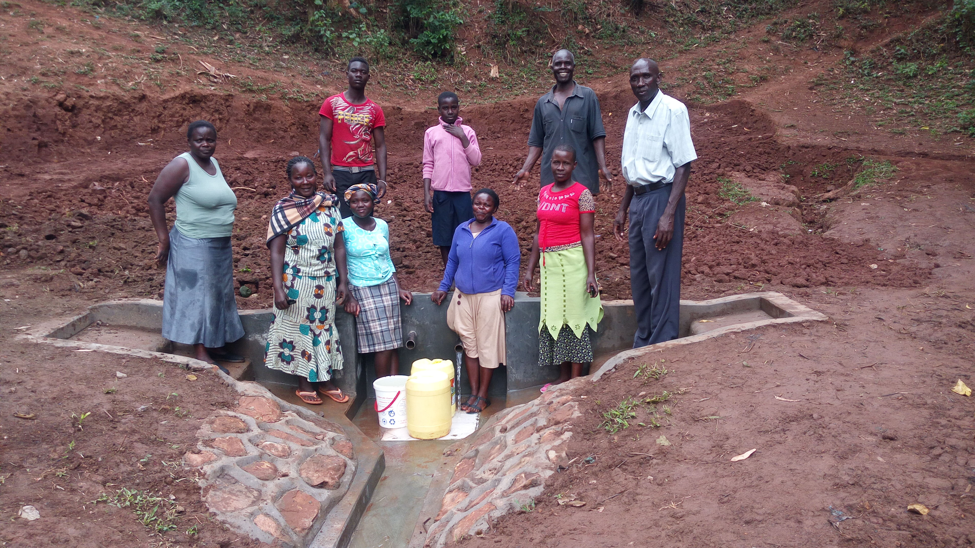 The Water Project : 27-kenya4709-protected-spring