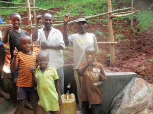 The Water Project : 28-kenya4703-protected-spring