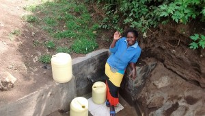The Water Project : 32-kenya4701-protected-spring