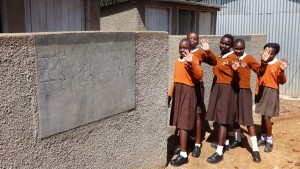 The Water Project : 33-kenya4646-finished-latrines