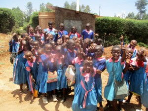 The Water Project : 35-kenya4648-finished-latrines