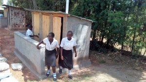 The Water Project : 36-kenya4645-finished-latrines