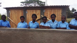 The Water Project : 36-kenya4647-finished-latrines