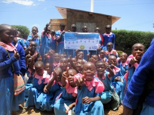 The Water Project : 36-kenya4648-finished-latrines