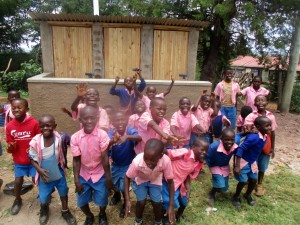 The Water Project : 37-kenya4648-finished-latrines
