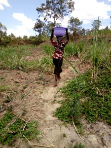 The Water Project : 4-kenya4726-carrying-water