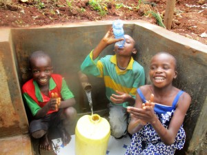 The Water Project : 40-kenya4703-protected-spring