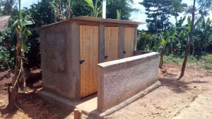 The Water Project : 41-kenya4644-finished-latrines