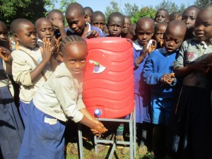 The Water Project : 43-kenya4642-hand-washing