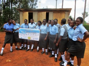 The Water Project : 43-kenya4643-finished-latrines