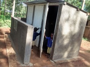The Water Project : 44-kenya4642-finished-latrines