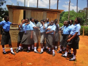 The Water Project : 44-kenya4643-finished-latrines