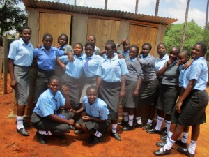The Water Project : 45-kenya4643-finished-latrines