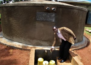 The Water Project : 47-kenya4643-mr-enos-kagali-school-headteacher