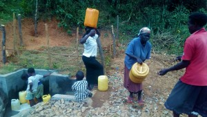 The Water Project : 49-kenya4704-protected-spring