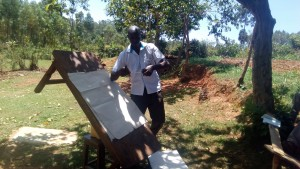 The Water Project : 5-kenya4704-staff-wilson-kipchoge-conducting-training