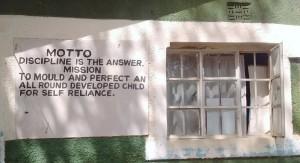 The Water Project : 6-kenya4661-school-motto