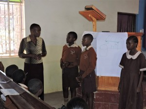 The Water Project : 8-kenya4646-student-leaders-address-training