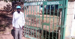 The Water Project : 8-kenya4661-school-security-guard