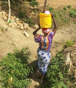 The Water Project : 8-kenya4717-carrying-water