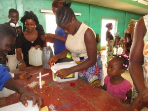 The Water Project : 8-sierraleone5103-making-hand-washing-stations