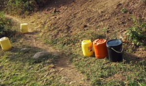The Water Project : 11-kenya4743-water-containers